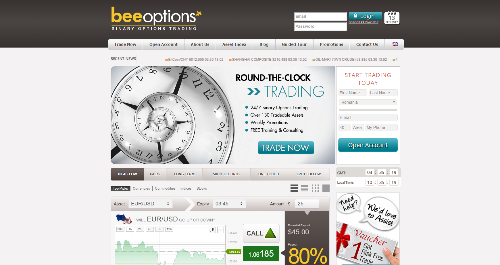 beeoptions romania